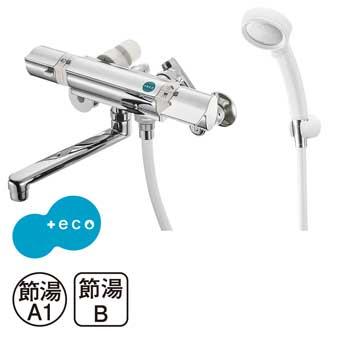 三栄水栓[SANEI]【SK18121CT3U-13】サーモシャワー混合栓(レイニー付)[新品]