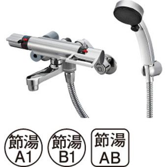 三栄水栓[SANEI]【SK1813CT5-S-13】サーモシャワー混合栓[新品]【RCP】