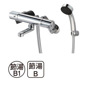 三栄水栓[SANEI]【SK18C-S9L08】サーモシャワー混合栓[新品]