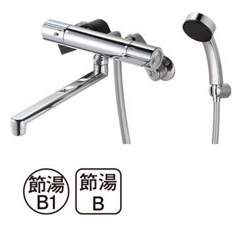 三栄水栓[SANEI]【SK18C-S9L24】サーモシャワー混合栓[新品]