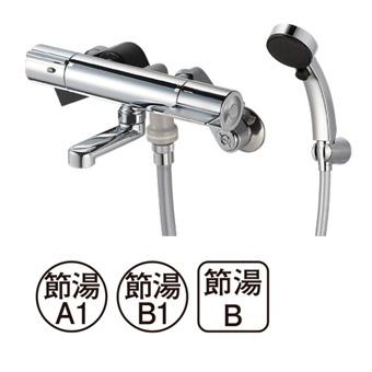 三栄水栓[SANEI]【SK18CK-T5L19】サーモシャワー混合栓[新品]