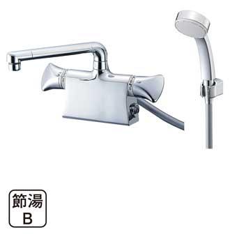 三栄水栓[SANEI]【SK78011DS9K-13】サーモデッキシャワー混合栓[新品]