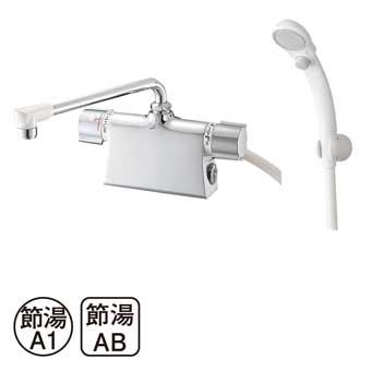 三栄水栓[SANEI]【SK785D-L-13】サーモデッキシャワー混合栓[新品]