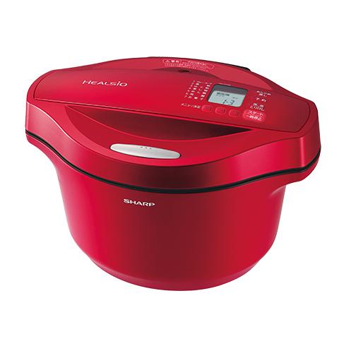 シャープ[SHARP] オプション・消耗品 【KN-HT24B-R】 水なし自動調理鍋へルシオホットクック カラー:-Rレッド系 [新品]