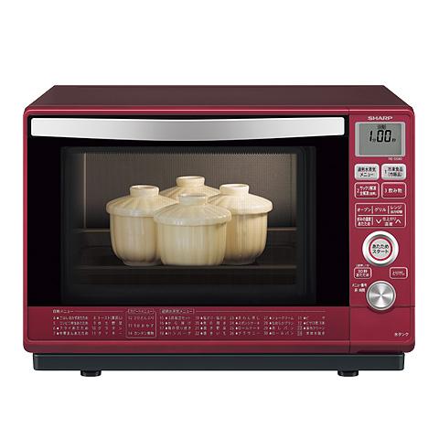 シャープ[SHARP] 過熱水蒸気オーブンレンジ<総庫内容量:23L(1段調理)> Rレッド系【RE-SS9D-R】[新品]