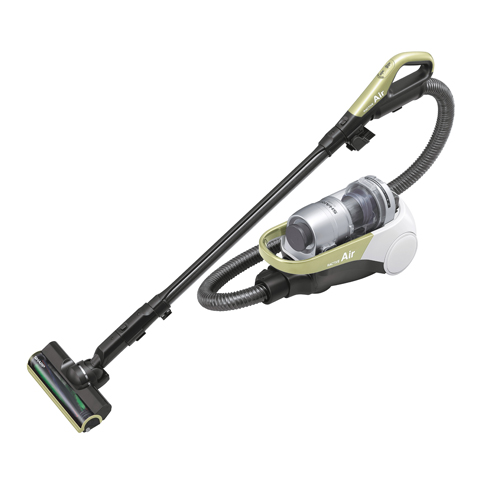 シャープ[SHARP]コードレスキャニスターサイクロン掃除機<イエロー系>【EC-AS500-Y】[新品]