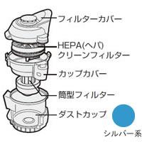シャープ[SHARP] オプション・消耗品 【2171370249】 掃除機用 ダストカップセット<シルバー系>(217 137 0249) [新品]