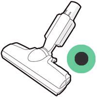 シャープ[SHARP] オプション・消耗品 【2179351016】 掃除機用 吸込口<グリーン系> [新品]