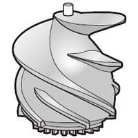 シャープ[SHARP] オプション・消耗品 【2182920001】 ジュースプレッソ用 スクリュー(218 292 0001) [新品]
