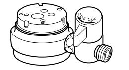 ナニワ製作所 分岐水栓 【NSJ-SSH8+AUADセット】[新品]
