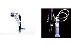 ヤンマー ビルトイン浄水器 【YWP70N-5061】 浄水器専用混合水栓セット [新品]【NP後払い不可】