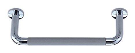 シロクマ パッドニギリバー(150mm) 【H150】600mm クローム/グレー 【NO-800】【メーカー直送のみ・代引き不可・NP後払い不可】[新品]