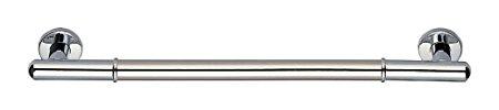 シロクマ 丸型ニギリバー 800mm クローム 【NO-701】【メーカー直送のみ・代引き不可・NP後払い不可】[新品]