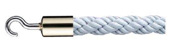 シロクマ パーティションロープ φ25×1200mm 金・シルバー 【FPR-25C】[新品]