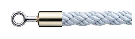 シロクマ パーティションロープ φ25×1800mm 金・シルバー 【FPR-25R】【メーカー直送のみ・代引き不可・NP後払い不可】[新品]
