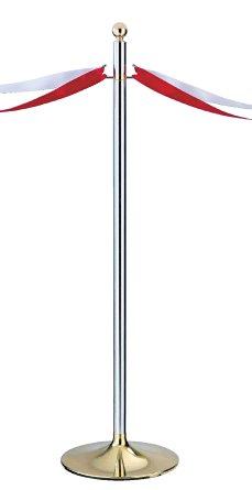シロクマ テープカットポール 金/鏡面 【FPP-2081】[新品]