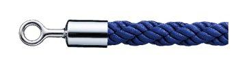 シロクマ パーティションロープ φ25×1200mm Cr・ブルー 【FPR-25R】【メーカー直送のみ・代引き不可・NP後払い不可】[新品]