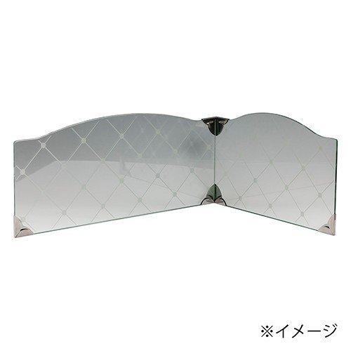 池永鉄工 システムキッチン ビルトインコンロ用 レンジガード IR-700G クリア