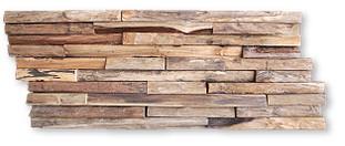 テキサスロックンウォール 付け方 古材 タイル 板 テキサスロックンウォール ラージ 7kg 5枚入