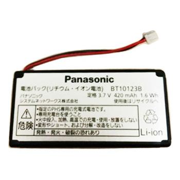 【ゆうパケット対応可】 パナソニック Panasonic ビジネスフォン用電池パック BT10123B