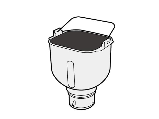 パナソニック Panasonic ホームベーカリー 米用パンケース 完成品 ADA60-176
