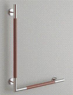 TOTO トイレ アクセサリー インテリア・バー(コンテンポラリタイプ)【YHR86WR・YHR86WL】天然木タイプ L型[新品]