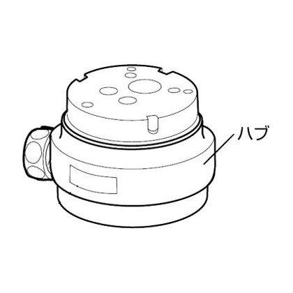 ナニワ製作所 分岐水栓 【NSJ-SSH8】 対応メーカー:TOTO 【NSJSSH8】[新品]