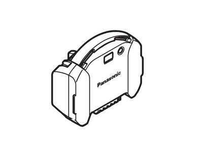 パナソニック Panasonic 電気掃除機 ハイブリッド電源掃除機 充電式リチウムイオン電池 AMV97V-GM
