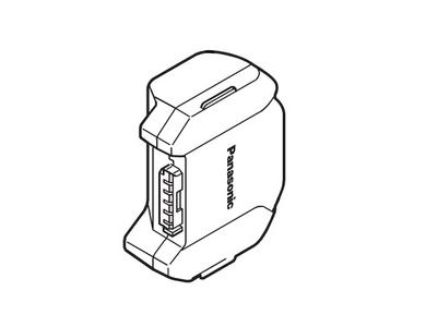 パナソニック Panasonic 掃除機 充電式リチウムイオン電池 AMV97V-GE