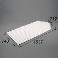 LIXIL リクシル トステム 浴槽巻きフタ【商品コード:RGFZ101 内容物:本体×1 ホワイト 】[新品]