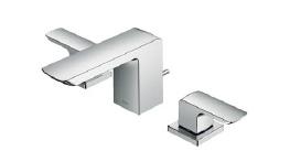 TOTO 洗面所用水栓 台付2ハンドル混合水栓 水栓取付穴:F 一般地・寒冷地共用【TLG02201J】 [新品]