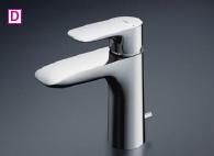 TOTO シングル混合水栓〈台付き2穴〉 GAシリーズ 台付シングル混合水栓【TLG04302Z】 [新品]
