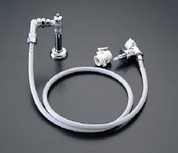 TOTO 洗濯機用水栓(緊急止水弁付)「ピタットくん」 床給水タイプ(全自動洗濯機用) 洗濯機用立水栓(緊急止水)樹脂配管用【TWAS15A】 [新品]