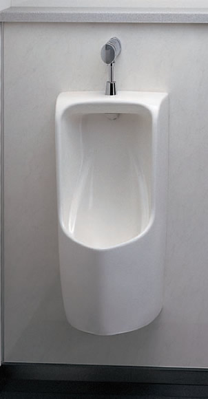 TOTO トイレ 壁掛小便器セット (小便器【UFH570】+小便器用フラッシュバルブ【TG600PN】+バックハンガー【T9R】) 節水[新品]