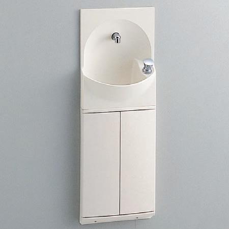 TOTO トイレ 手洗器付キャビネット 【YSC46SX#NW1】(ホワイト) ハンドル式水栓タイプ[新品]