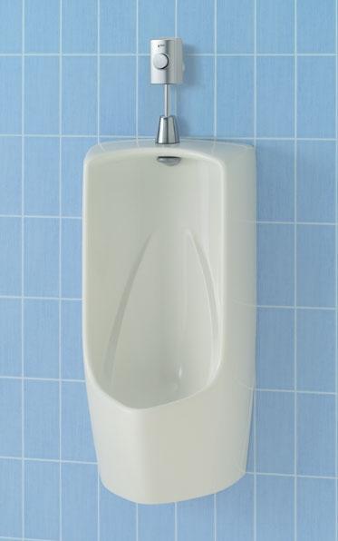 【直送商品】U-411R INAX LIXIL・リクシル トラップ付大形壁掛ストール小便器 壁排水 赤外線センサー(埋込式) フランジ(塩ビ排水管用)[新品]【代引き不可・NP後払い不可】