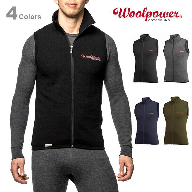Woolpowerウールパワー ベスト 400【正規品】