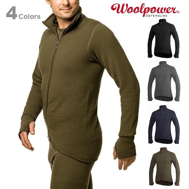 Woolpowerウールパワー フルジップジャケット 400【正規品】