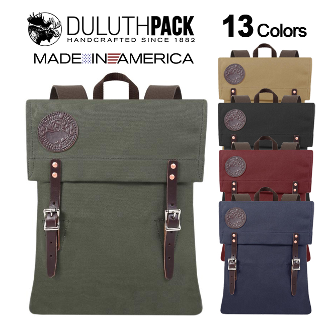 【NEW】Duluth Pack Scout Packダルースパック スカウトパック(Wing)【正規品】