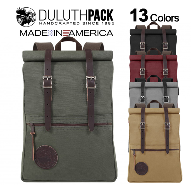 Scout Roll-Top Packダルースパック ロールトップ Pack Duluth スカウトパック【正規品】
