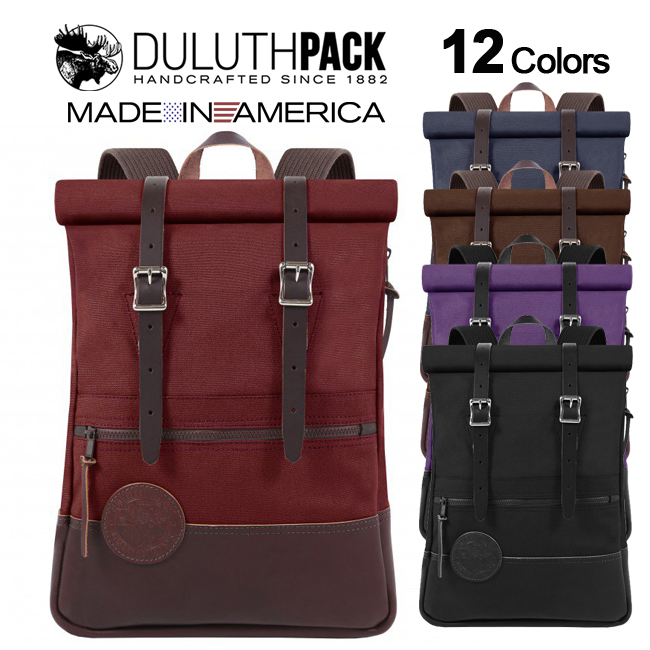 Duluth Pack Deluxe Roll-Top Scout Packダルースパック デラックス ロールトップ スカウトパック【正規品】