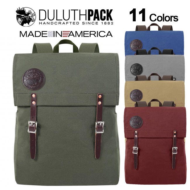【NEW】Duluth Pack Scoutmaster Packダルースパック スカウトマスターパック(Wing)【正規品】