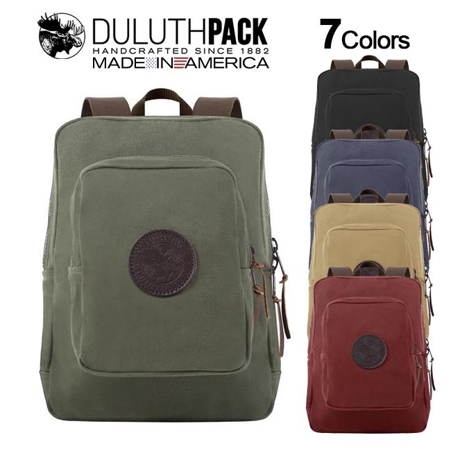 Duluth Pack Medium Standard Daypackダルースパック ミディアム スタンダード デイパック【正規品】