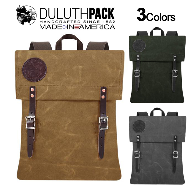 【NEW】Duluth Pack Scout Pack WAXダルースパック スカウトパック ワックス(Wing)【正規品】