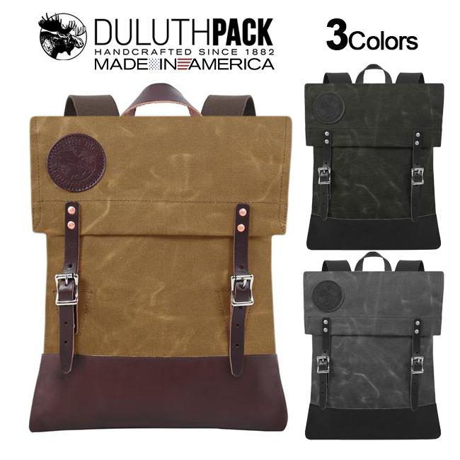 NEW 驚きの値段 Duluth Pack Deluxe Scout お気に入 WAXダルースパック 正規品 ワックス スカウトパック デラックス Wing