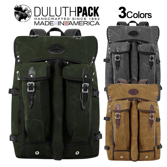 Duluth Pack Bushcrafter WAXダルースパック ブッシュクラフター ワックス【正規品】