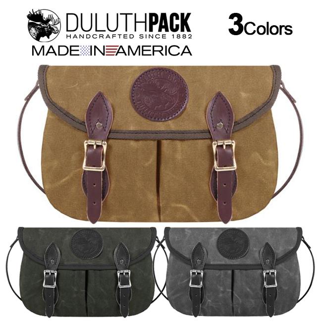 Duluth Pack Medium Double Shell Purse WAXダルースパック ミディアム ダブルシェル パース ワックス【正規品】