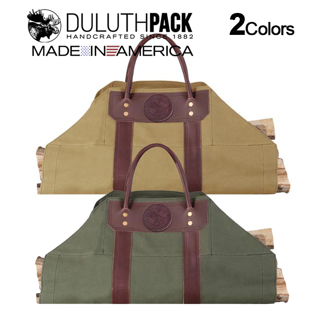 Duluth Pack Log Carrierダルースパック ログ キャリア【正規品】