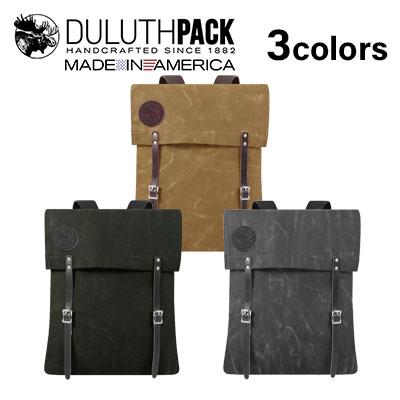 【NEW】Duluth Pack #51 Utility - 34L WAXダルースパック #51 ユーティリティ 34L ワックス【正規品】