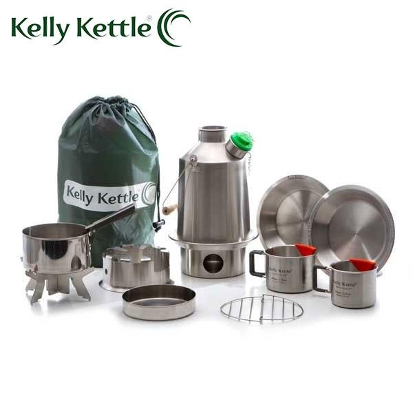 Kelly お見舞い Kettleケリーケトル 最新アイテム スカウト アルティメット 1.2L キット 日本正規品 ステンレス